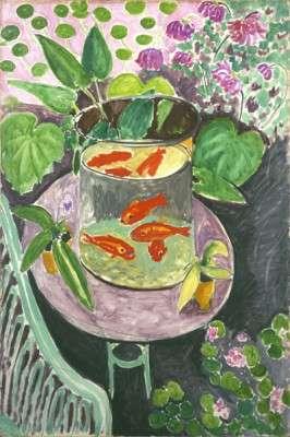 002-Henri MATISSE- I pesci rossi