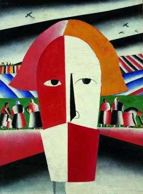 """Malevic: """"Testa di contadino"""" (1928)."""