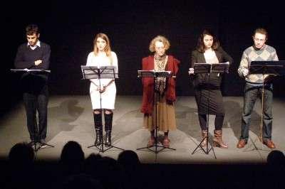 Da sinistra, Stefano Vona Bianchini, Maria Giordano, Luciana Luppi, Celeste David e Stefano Persiani.