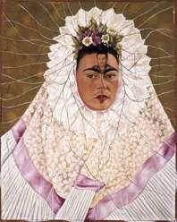 003-Frida-Kahlo-Ritratto come una tehuana