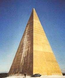 Una delle piramidi russe.