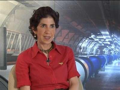 Fabiola Gianotti, direttore del Cern.