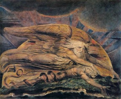 William_Blake_._Elohim_Creating_Adam_._WGA2219