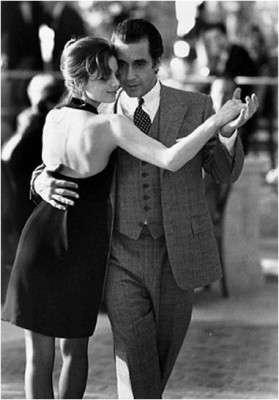 """Un'altra scena di tango, con Al Pacino e Gabrielle Anvar in """"Profumo di donna""""."""