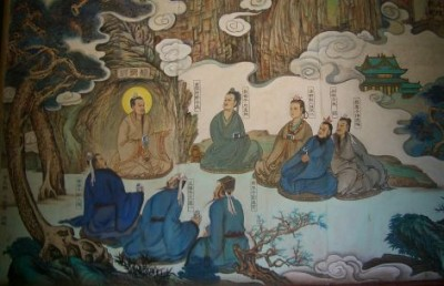 Changchun.Temple.Master.and.disciples.painting.0316