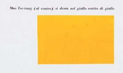 """Isgrò: """"Trittico della Rivoluzione"""", 1973."""