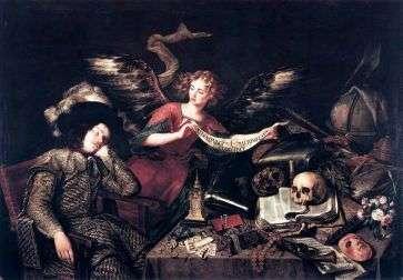 """Antonio de Pereda """"Il sogno del nobiluomo"""" (1670)."""