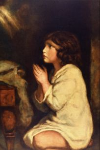 Joshua Reynolds: The Infant Samuel, 1776, Tate, London.
