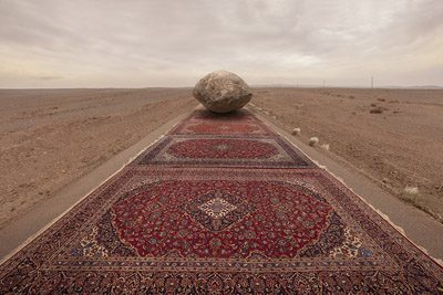 Jalal Sepehr, from Red Zone, Untitled, 2013-2015.