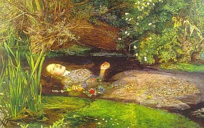 John Everett Millais, Ofelia.