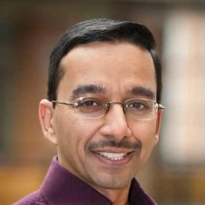 Lo scienziato Rajesh Rao