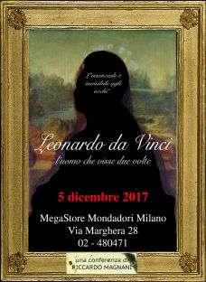 Leonardo da Vinci, l'uomo che visse due volte @ Mondadori Multicenter | Milano | Lombardia | Italia