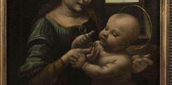 """A Fabriano, la """"Madonna Benois"""" di Leonardo"""