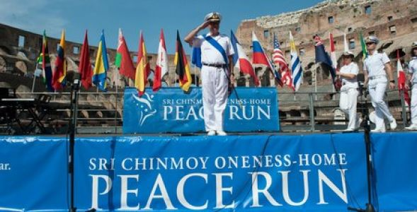 The peace run, la corsa della pace