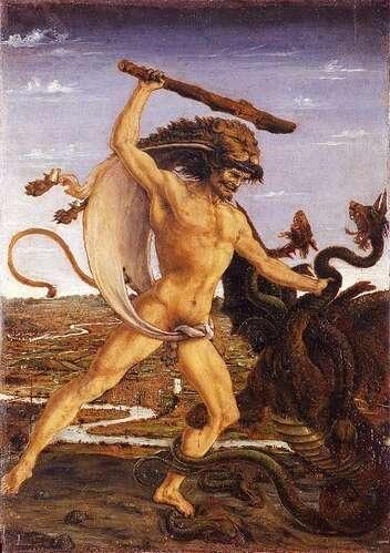 Eracle: il coraggio e la paura